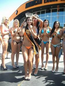 Miss American Eagle Harley Davidson