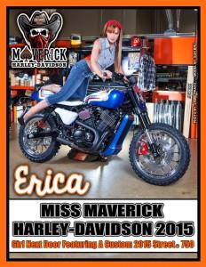 Miss Maverick Harley Davidson
