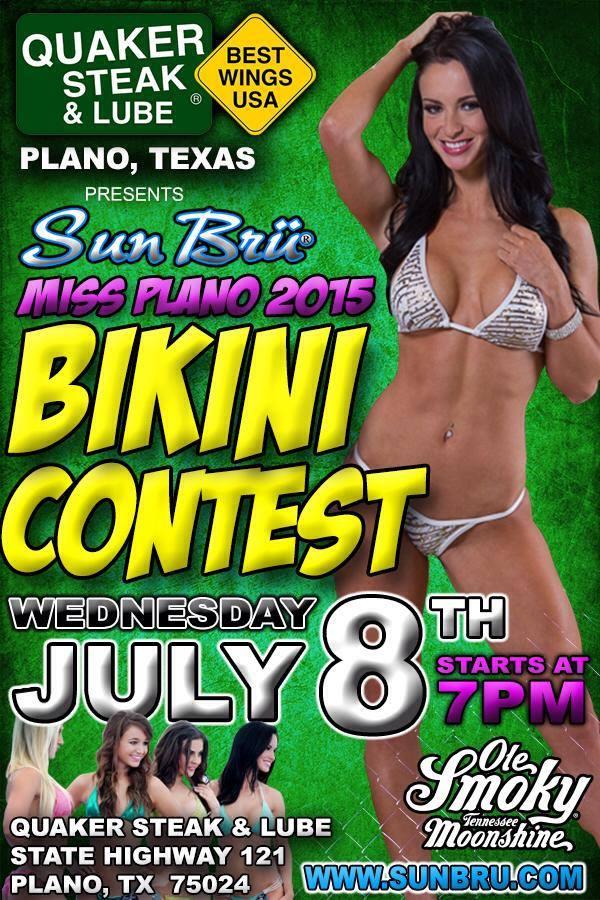 Miss Plano 2015 Bikini Contest